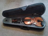 Violin (Stagg), half size, played once, as new