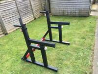 *2nd Hand/Used* Squat Rack & 50kg Weights Set