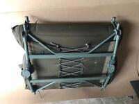Fox flatliter mk2 carp fishing bed chair