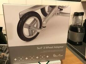 SILVER CROSS WHEEL - TO MAKE PRAM IN TO 3 WHEEL