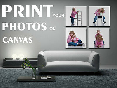 PERSONALISED BOX CANVAS PRINT - YOUR PHOTO - ANY CHOICE OF IMAGE - MANY SIZES (Image Printer)