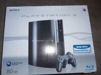 Sony Play Station 3. 80GB with 21 Games