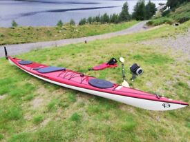 Sea kayak Trapper K1 Bonita