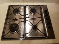 Ignis gas 4 burner stainless steel hob