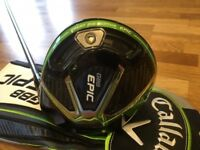 Epic Driver 10.5 Degree New Never Used with Callaway Head Cover
