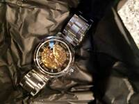Brand new mechanical wrist watch
