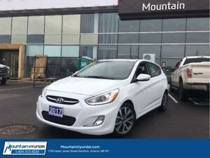 2017 Hyundai Accent 5DR GLS | ALLOYS | SUNROOF |