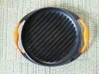 Le Creuset cast iron griddle