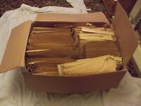 PADDED BUBBLE WRAP ENVELOPES BROWN 100 FOR £18.00 - 50 FOR £10.00 - H5