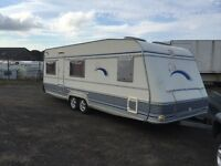 Tec Hobby edition 5 berth 2002 full awning fixed bed cassette toilet shower cooker fridge full