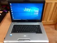 Toshiba Satellite HD 4GB Ram Laptop 320GB,Window10,Microsoft office,Ready