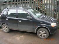 Suzuki Ignis GL 1328cc black 5door hatchback 2001; Y REG !!!!!BREAKING FOR SPARES / PARTS !!!!!