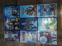 9 DVD'S FROZEN AND OTHERS