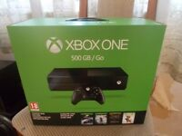 xbox one brand new and sealed