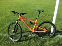 2015 Rocky Mountain Thunderbolt 730 full suspension XC/trail mountain bike for sale