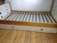 Cotswold Company Oak SingleBed with Sleepover Trundle for sale  Woodford, London