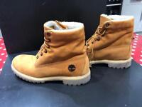 Timberlands 11 Boots Roll Cuff Top. only worn once