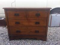 Antique chest of draws