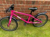 FROG 55 Pink Hybrid Bike
