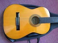 Classical guitar, ideal for school