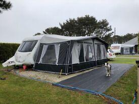 Swift 545SE 4 berth caravan
