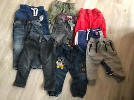 Trouser bundle 12-36 months