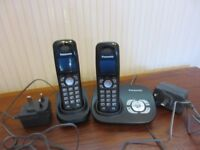Panasonic phones and answerphone - KX-TG8021E - for sale