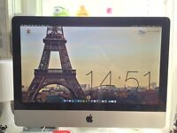 21.5inch, 500GB HD, 4GB RAM Apple iMac - excellent condition except cd/dvd drive issues