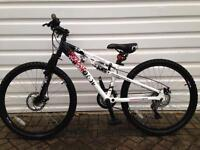"Mountain bike as new (14"" frame)"