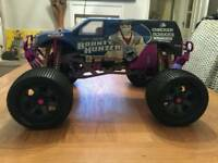 Hopped up hpi savage nitro rc collectable swap