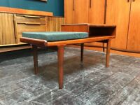 Telephone Table by A. Younger Ltd of Glasgow. Retro Vintage Mid Century