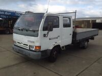 LEFT HAND DRIVE NISSAN CABSTER, DRIVES VERY WELL,ENGINE&MECHANICS GREAT,BIG LOAD SPACE.CALL MARC