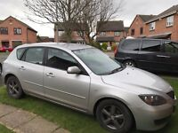 Used Mazda 3 Car for sale, Silver, 1.6 Lt Petrol Car, Manual Transmission with Rear Parking Sensors