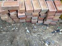 Red London bricks