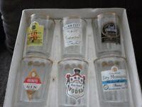 Boxed Set of Whiskey Glasses