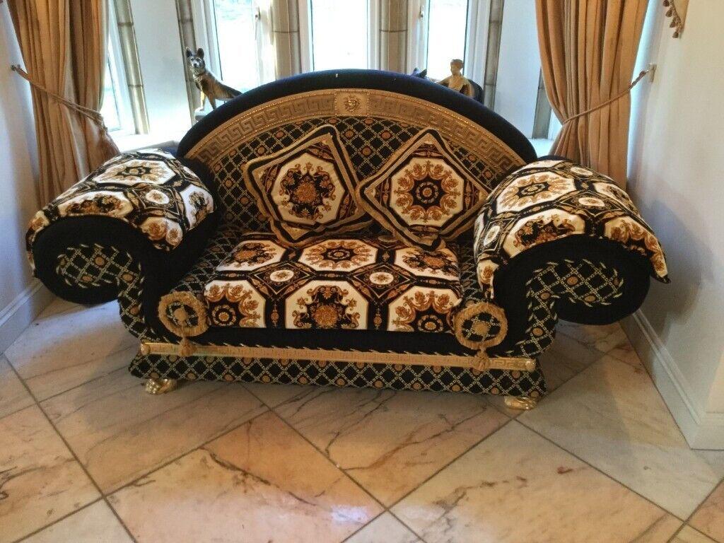 Designer Sofa By Versace In Ipswich Suffolk Gumtree