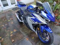 2015 Yamaha YZF R3 £600 Full Akrapovic Exhaust Installed In Good Condition