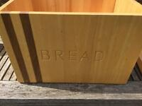 Solid Wood Bread Bin