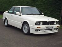 1991 BMW 325i Sport E30 Alpine White Motorsport M3 911 Cosworth