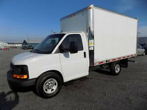 CHEVROLET EXPRESS 3500 CUBE 12 PIEDS RAMPE 2014