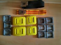 Assorted diving weights with belts £30