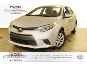 2015 Toyota Corolla LE camera de recu