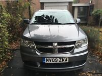 2009 DODGE JOURNEY SUV 2.4 SE 5 DOOR PETROL MANUAL 7 SEATS