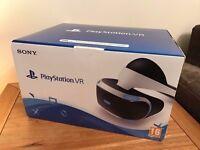 Playstation VR Headset - PS4 PSVR NEW inc RECEIPT