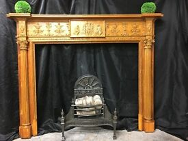 Antique Original Georgian Fireplace surround