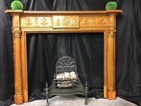 Antique Original Georgian Fireplace surround