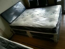 BRAND NEW King size beds with memory foam & orthopaedic mattresses £ 129