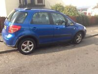 2007 1,6 Suzuki SX4,,all major credit or debit cards accepted