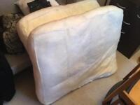 "Sofa Cushions x2 (No Cover) 6""/15cm Thick x 39""/1m Wide x 30""/77cm Deep - £1 ONO"