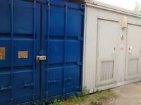 TO LET Storage Space available Lock up Garages/Shipping Containers/Cabins TO LET